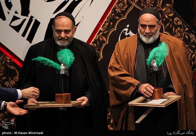 تجلیل از «یدالله بهتاش» و «مهدی آصفی» در اختتامیۀ همایش نوگلان حسینی + فیلم