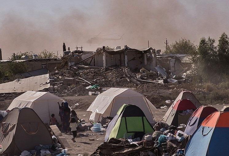 همه خانوادههای آسیبدیده در روستاها چادر تحویل گرفتهاند/ نیاز اصلی امروز زلزلهزدگان کانکس است