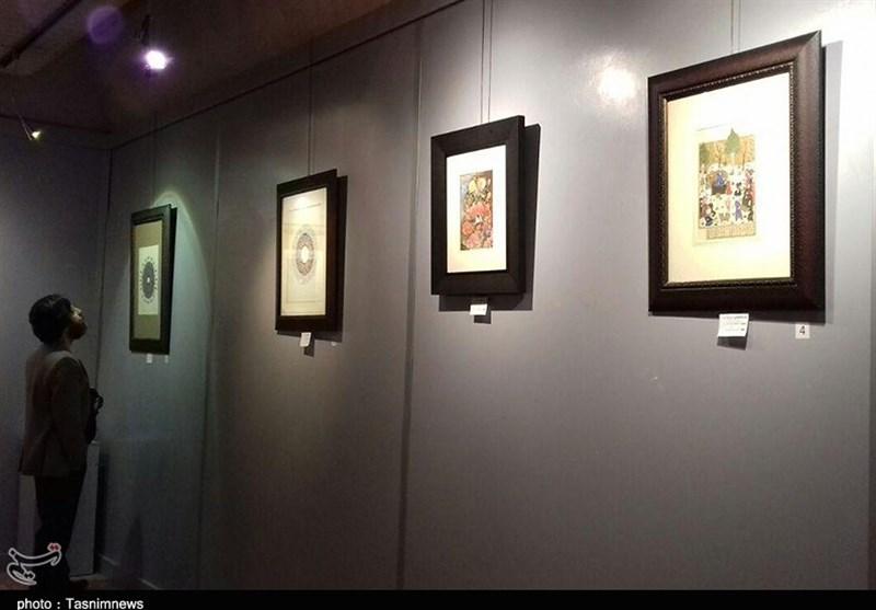 """برپایی نمایشگاه گروهی نقاشی ایرانی """"مهرنگار"""" در رشت"""
