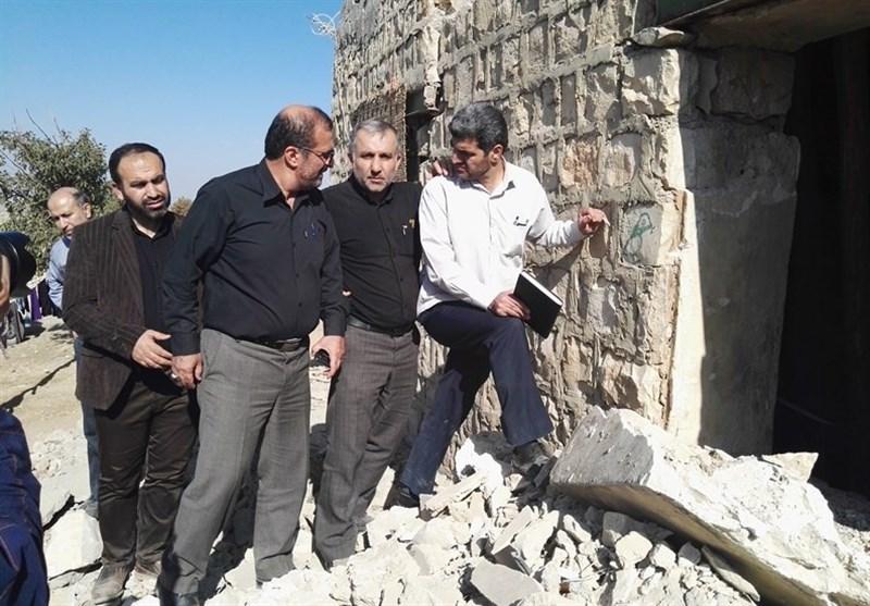 مردم ۷ روستایی زلزله زده کرمانشاه نیاز به اسکان دائم دارند