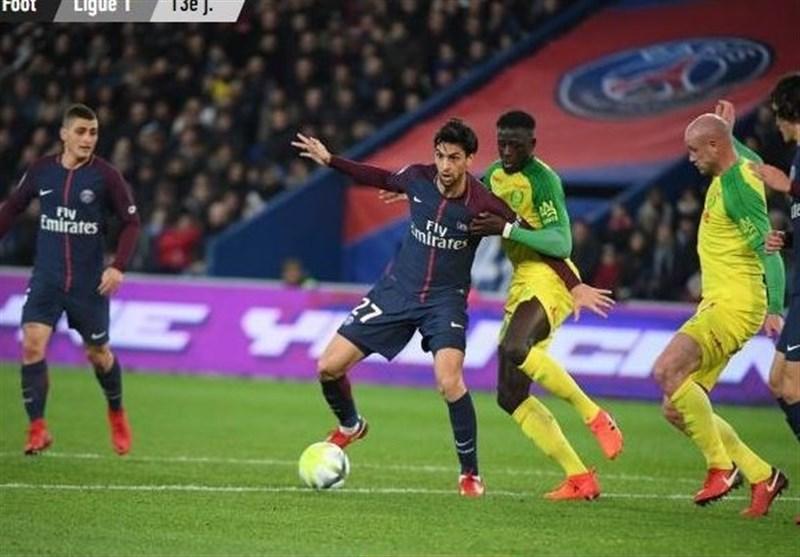 برتری خانگی قاطعانه پاریسنژرمن مقابل تیم رانیری