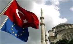 اتحادیه اروپا کمکهای مالی به ترکیه را قطع کرد