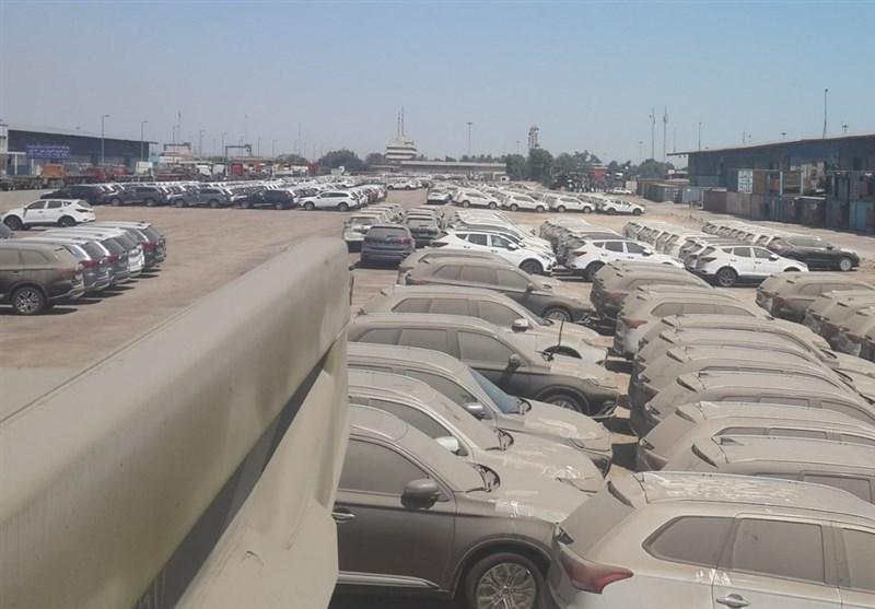 تعداد خودروهای متوقف در گمرک از ۱۰ هزار دستگاه گذشت/تداوم بلاتکلیفی واردات