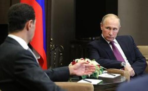 پوتین در دیدار با بشار اسد چه گفت؟