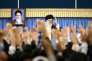 دیدار جمعی از فرماندهان بسیج و بسیجیان با رهبر انقلاب