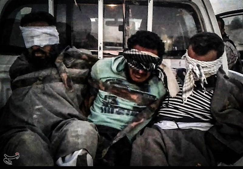 اسارت تروریستهای داعشی توسط رزمندگان لشکر فاطمیون + عکس