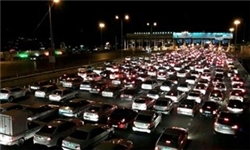 ترافیک فوقسنگین در محورهای هراز و فیروزکوه