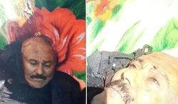 جسد علی عبدالله صالح شبانه دفن شد