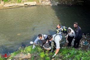 کشف یک جسد در کانالهای آب پاکدشت