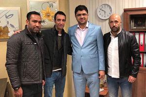 سیاوش اکبرپور دستیار رضا عنایتی شد