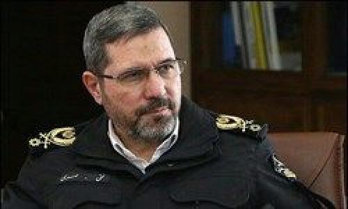 اعطای درجه سرتیپی به رئیس پلیس راهور ناجا