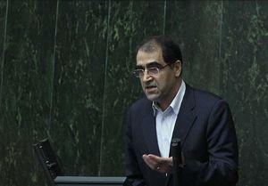قاضیزاده: بودجه وزارتبهداشت تخصیص داده نشد