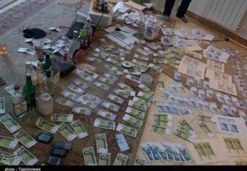 دستگیری باند چاپ اسکناس در رشت +عکس