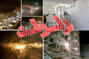 ادامه پس لرزههای زلزله در کرمان و کرمانشاه تا یک سال آینده