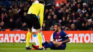 مهاجم بارسلونا الکلاسیکو را از دست داد