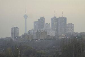 آخرین وضعیت آلودگی هوای تهران
