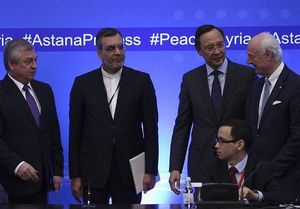 آغاز هشتمین دور از مذاکرات آستانه برای حل بحران سوریه