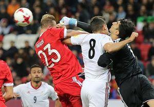 کُشتی ایران و روسیه در کازان به جای فوتبال!