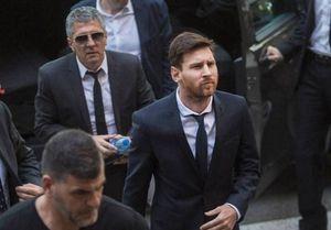 احتمال جدایی لیونل مسی از بارسلونا