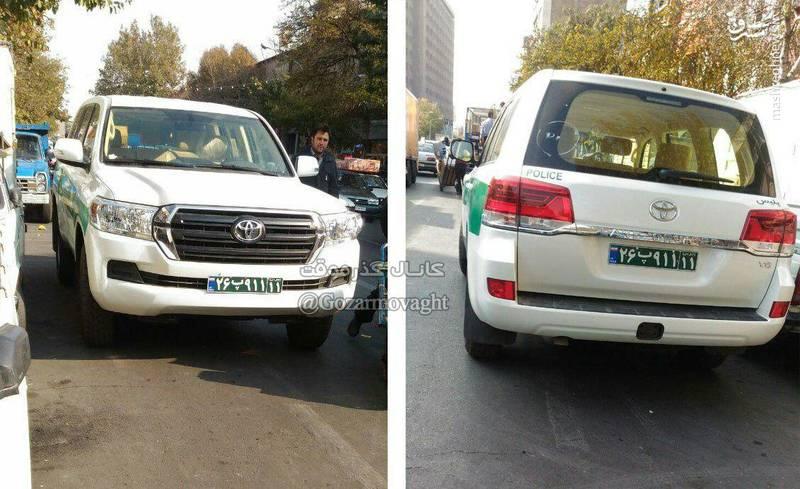 ماشین پلیسهای جدید نیروی انتظامی+عکس