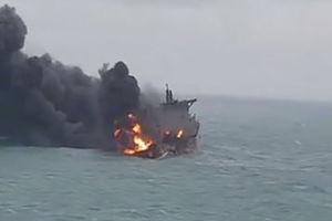 جعبه سیاه نفتکش حادثه دیده ایرانی پیدا شد
