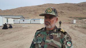 تحویل ۲ هزار کانکس ساخته شده ارتش به بنیاد مسکن