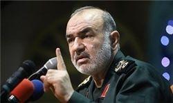 سردار سلامی: تهدیدات در حال تبدیل شدن به جنگ است