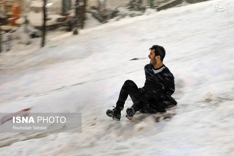 برف بازی تهرانیها در زمستان+عکس