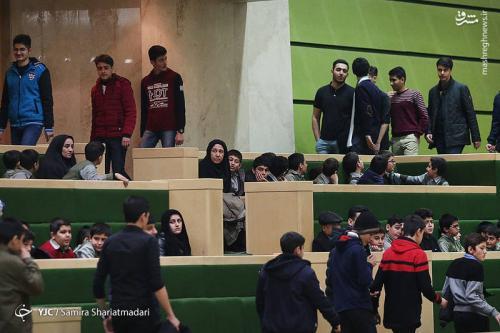 مهمانان جلسه امروز مجلس+عکس