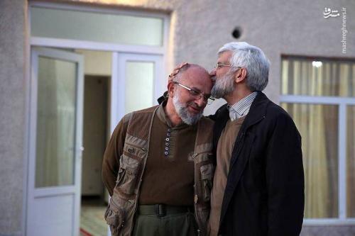 عکس/ بوسه دکتر بر پیشانی سردار