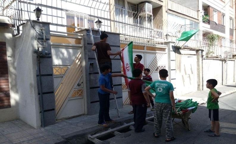 شوق انقلاب و وطن، 39 سال پس از پیروزی/ پرچمهای ایران چگونه بازهم به سر در خانههای مردم رسید؟