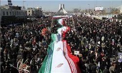 مسیرهای 10گانه راهپیمایی ۲۲ بهمن اعلام شد
