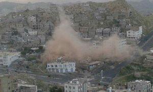 بمباران تاسیسات آب آشامیدنی توسط سعودیها