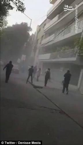 زلزله ۷.۲ ریشتری پایتخت مکزیک را لرزاند +عکس