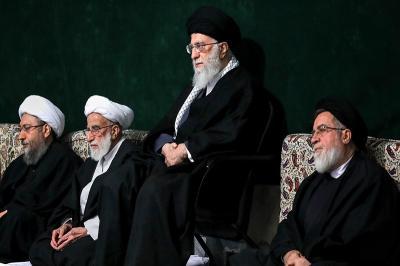 عکس:اولین شب عزاداری فاطمیه در حسینیه امام خمینی