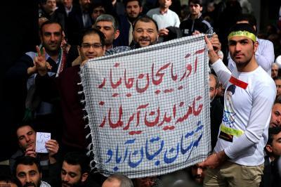 عکس:دیدار رهبر معظم انقلاب با مردم آذربایجان شرقی