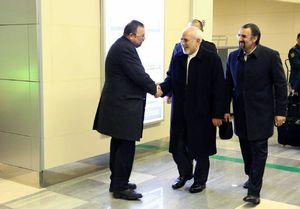 ظریف در بدو ورود به روسیه چه گفت؟