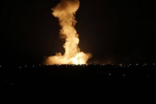 حمله موشکی اسرائیل به زمینهای کشاورزی در نوار غزه