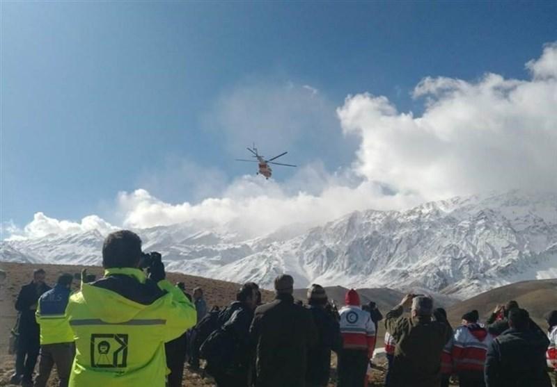 لاشه هواپیما پیدا شد/ عکسبرداری ارتفاعات دنا توسط ۲ جنگنده ارتش