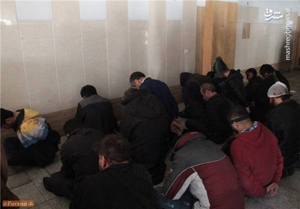 دراویش آشوبگر در بازداشت+عکس