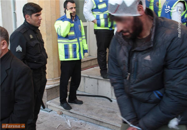 لحظه بازداشت دراویش اغتشاشگر+عکس