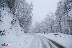 آغاز بارش برف و باران در کشور