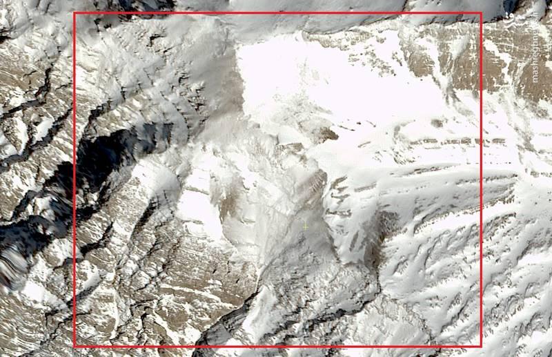 جدیدترین تصاویر ماهوارهای از محل سقوط هواپیمای یاسوج