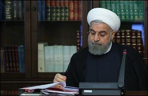 پیام تسلیت روحانی در پی شهادت نیروهای انتظامی و بسیج