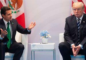 درگیری لفظی ترامپ با رئیس جمهور مکزیک