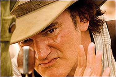 تارانتینو در یک فیلم وسترن بازی میکند