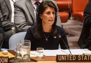 واکنش نیکی هیلی به حضور وزیر دادگستری در سازمان ملل