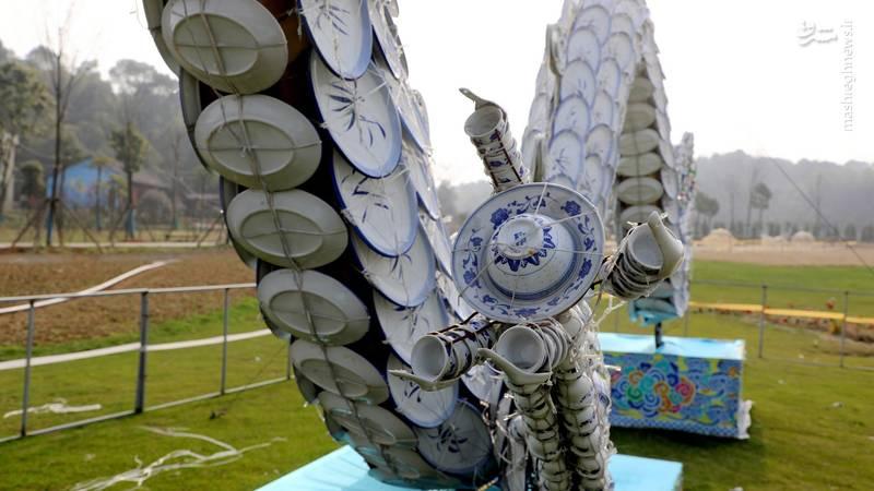 اژدهای چینی 100متری +عکس