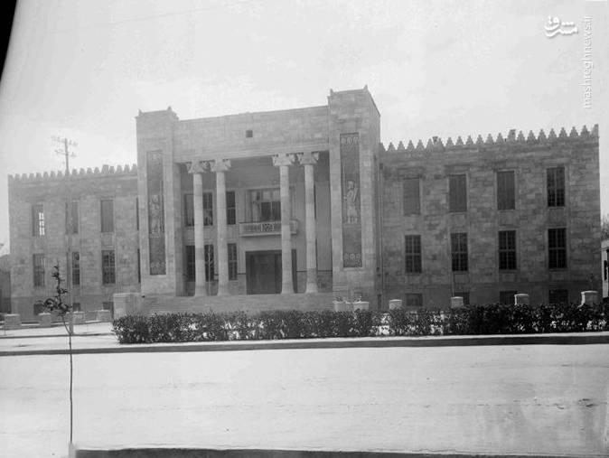 عکس/ ساختمان بانک ملی در زمان قاجار
