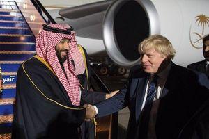 ولیعهد عربستان وارد لندن شد